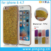 New China products for sale soft tpu epoxy glitter case for iphone 6s / 6 cover