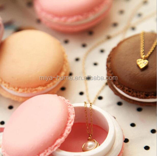 Hot selling macarons shape mini storage box/Jewelry storage box /plastic storage box