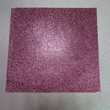 "Made In China DERUN 200GSM 12*12"" Self Adhesive Pink Glitter Paper"