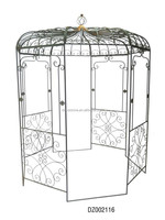 Outdoor Decorative Garden Metal Gazebo With K/D