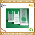 transparent t-shirt rolling bag for shopping