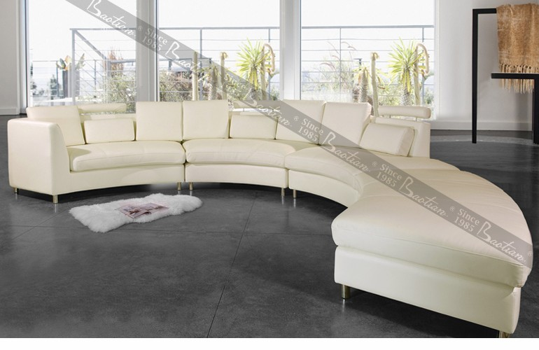 modern rattan leather sofa curved sectional leather sofa outdoor curved sofas
