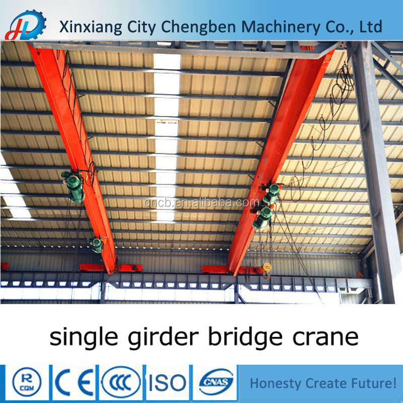 Promotion electric operation workshop small overhead crane