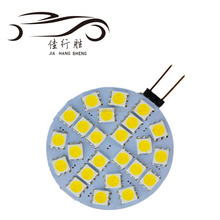 G4 LED Home G4 24SMD 5050 LED 24SMD Bulb Lamp Warm White Car Cabinet Boat modern led living room lamps 12V