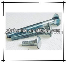 304/316 Stainless Steel Black/Zinc Plated Carriage Bolt Nut
