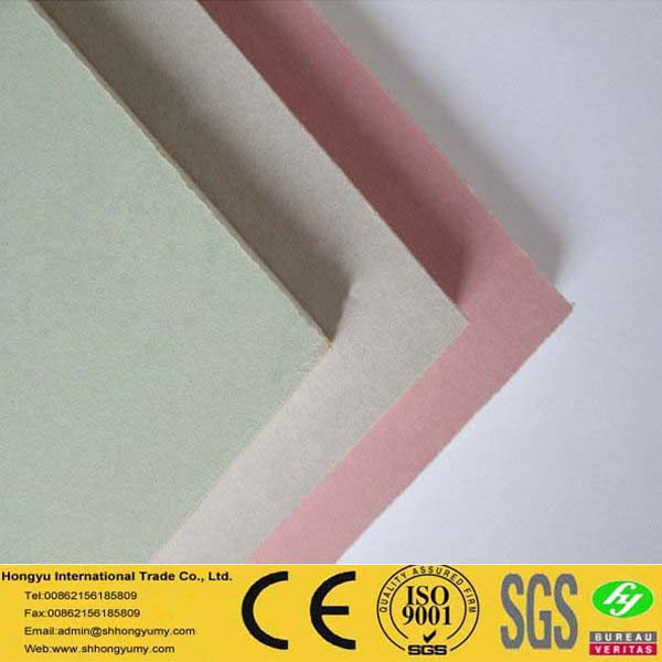 cheap price waterproof suspended gypsum board ceiling