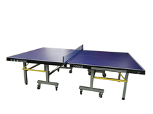 25mm table tennis table for competition/high quality moveable table tennis table/folded ping pong table