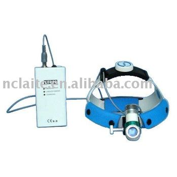 Optical LED surgical headlamps 3w for examination ENT treatment