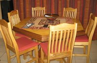 Hexagon Dining room suite