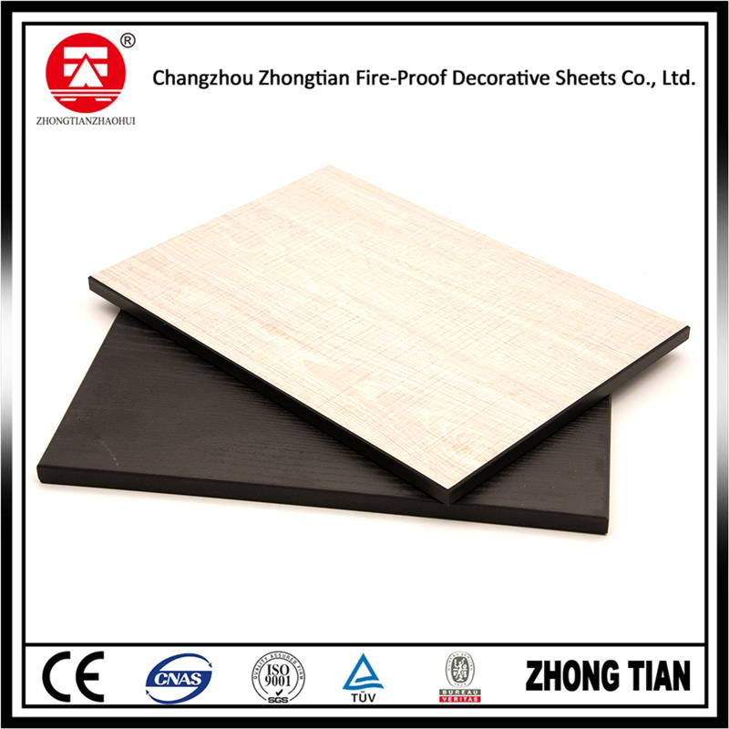 Plastic melamine sheet laminate with CE certificate