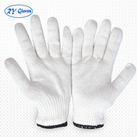 300pairs wholesale safety protect white cotton hand gloves