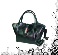 Designer Fancy Black PU Women Elegant Bag