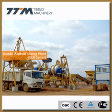 60t/h mobile mini asphalt plant, mobile asphalt hot mix plant, small asphalt plant
