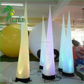 LED Inflatable Pillar , Inflatable Column , Prism Inflatable Light Tower for Decoration