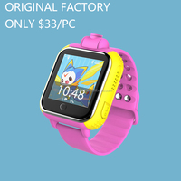 1.54 inch TFT Touch screen 3g kids gps watch phone 3g wifi kids tracker smart watch