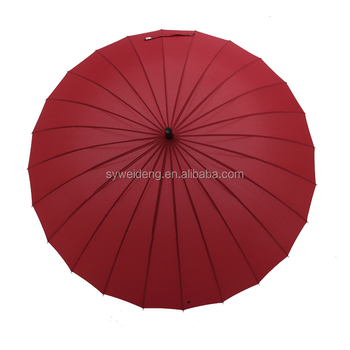 "25""*24k strong straight umbrella"