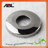 ABLinox high quality pole base covers stainless steel, railing flange, base for balustrade
