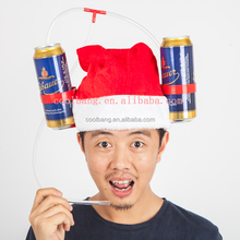 2016 New style funny drinking christmas beer hats for adults