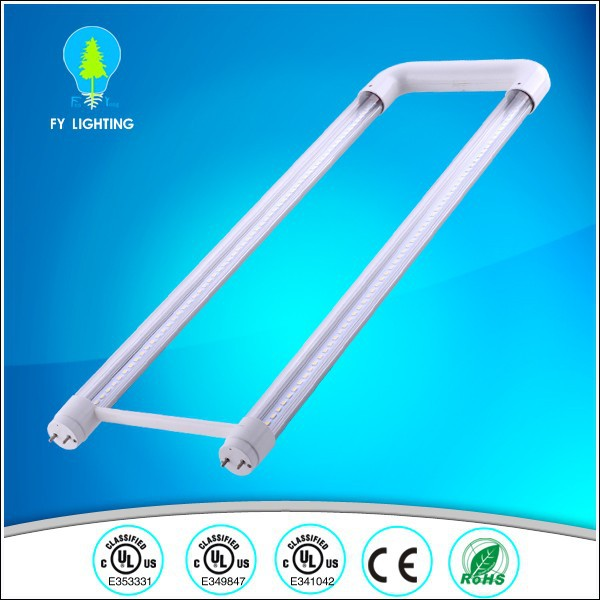 UL CUL U shaped T8 led tube light 2ft high brightness external driver