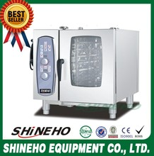 Heavy Duty High Efficiency Kitchen CE Approved 6 Layers Combi Steam Oven