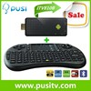 MK809III rk3188 quad core android tv dongle,smart android mini pc with wireless Keyboard