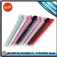 Hot selling new stylus touch pen for NINTENDO DS LITE NDSL 17 COLOURS