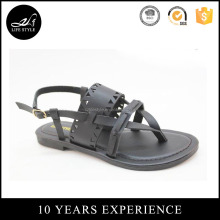 Hot sale new model leather sandals women