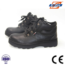 black genuine SBP rubber sole workshop safety shoes bangladesh