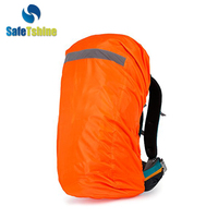 high quality reflective factory wholesale fluorescence travelling backpack cover