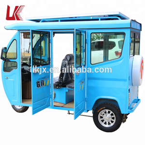 new design electric tricycle covered/bajaj bike india/enclosed electric tricycle