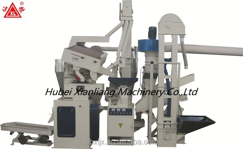 Price of mini all in one rice mill machinery