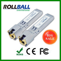 ODM and OEM supported RJ45 Copper SFP Module 1000base-t Gigabit Ethernet