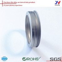 OEM ODM customized competitive hot sale precision metal neck ring glass jar