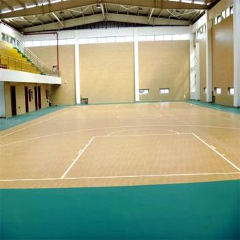 Professional Match Used Maple Pattern Indoor Basketball Court Floor