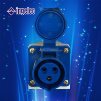 YiWu No.1 hot sale industrial multi pin round plug sockets waterproof plug and socket with 3 pin