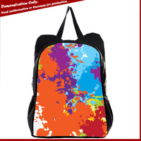 New products laptop rucksack college coloful rucksack and backpack bag