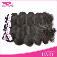 Gorgeous Silk Wavy Hair!!! Tight And Shed Free Full Cuticle 100% Vigin Indian/Brazilian Human Hair Extension Body Wave