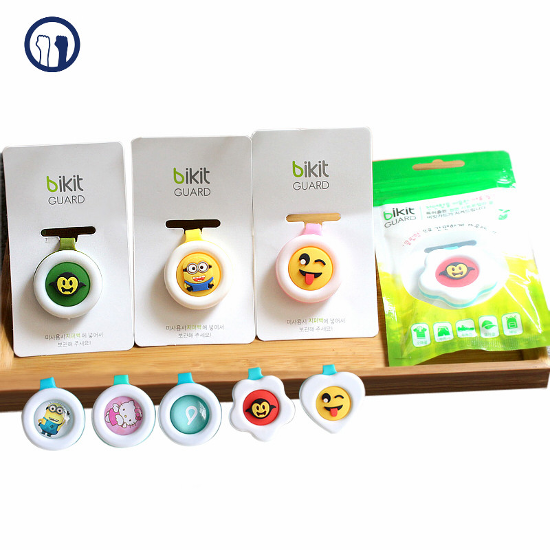 Hot sell wholesale pest control natural cartoon mosquito repellent buckle and factory price with high quality