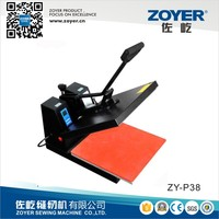 ZY-P38 Zoyer Manual Heat Press Industrial Sewing Machine