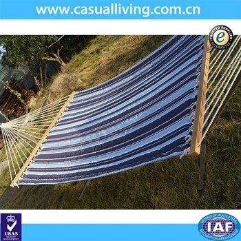 Deluxe Large Horizon Multistripe Quilted Hammock