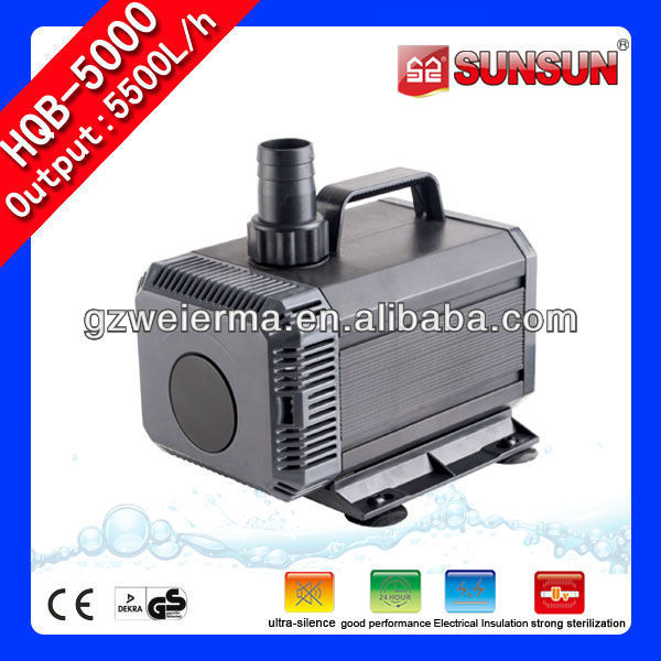 5500L/h 150W Aquarium Filter Pump Motor