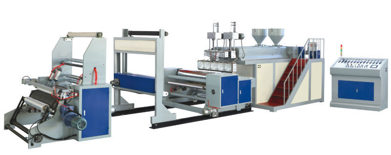 SJDD Double-Layer PE Stretch Film Making Machine/Cling Film Machine