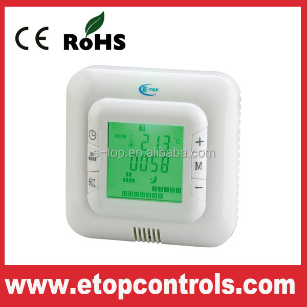 Popular 16A digital electric heating thermostat for underfloor heating