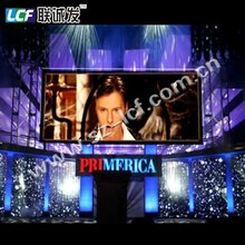 PH6 lift movie indoor full color led screen