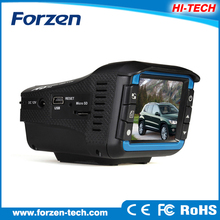 Easy installation full hd 1080p high security car dash cam with Radar Detector+ GPS+Car DVR