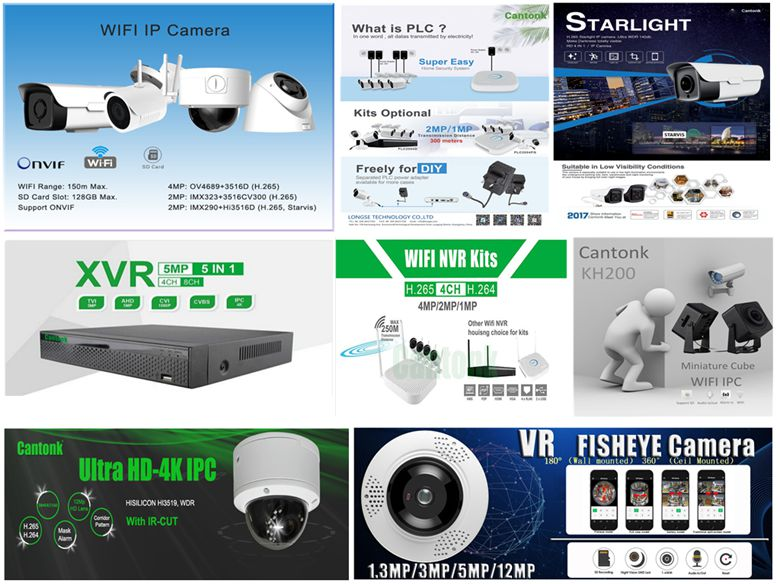 Top sell 5MP XVR Kits with 4pcs metal cctv camera 5MP DIY DVR Kits recorder with 2pcs dome bullet security camera video AHD IP