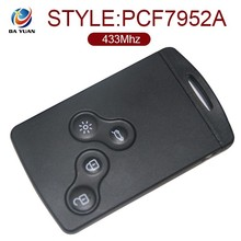 High quality duplicate car key maker for Renault Megane Laguna Scenic with 433Mhz 4 button ID46 chip [AK010022]
