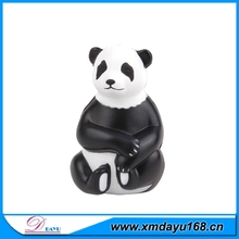 Wholesale Logo Custom Animal Style PU Panda Toy Ball