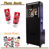 Fashionable Guangzhou 19inch used photo printer kiosk/instagram print machine
