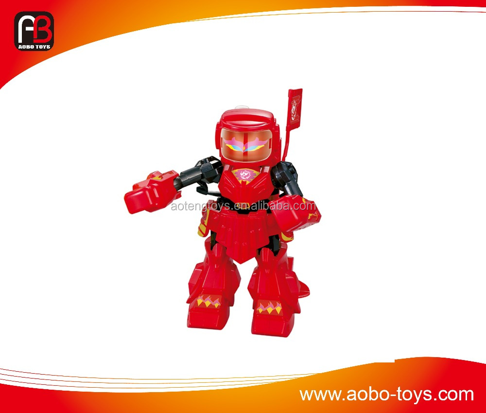 2.4G RC robot kids toy fighting robot for sale